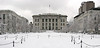 Harvard Medical School, looking rather majestic in the snow.